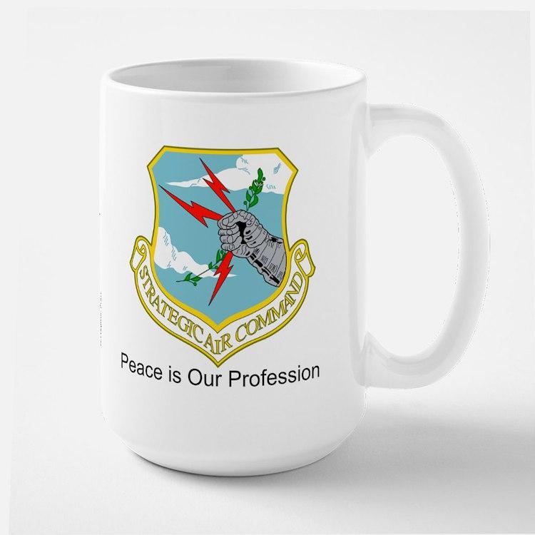 """B-52 SAC """"Peace is Our Profession"""" Mug"""