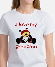 I love my grandma (boy ladybug) Women's T-Shirt
