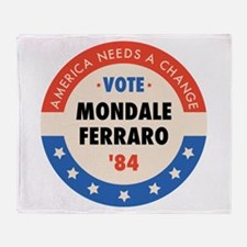 Vote Mondale '84 Throw Blanket