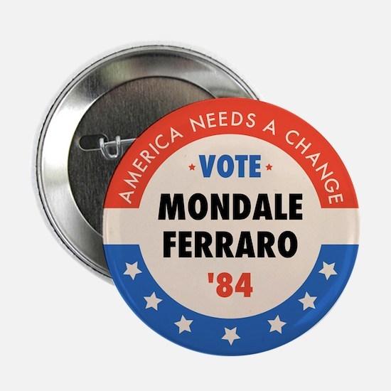 """Vote Mondale '84 2.25"""" Button (10 pack)"""