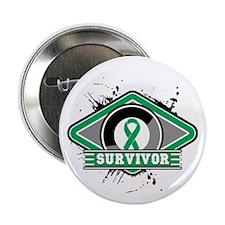 "Liver Cancer Survivor 2.25"" Button (10 pack)"