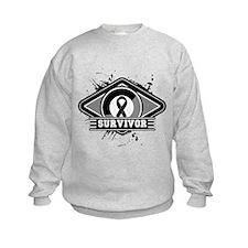 Melanoma Survivor Sweatshirt