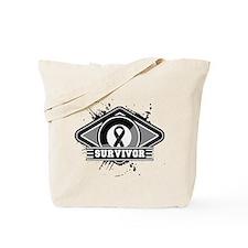 Melanoma Survivor Tote Bag