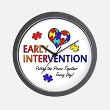 Early Intervention (Autism) Wall Clock