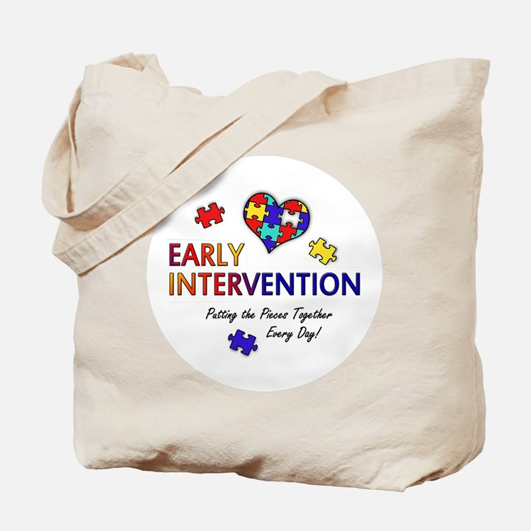 Early Intervention (Autism) Tote Bag