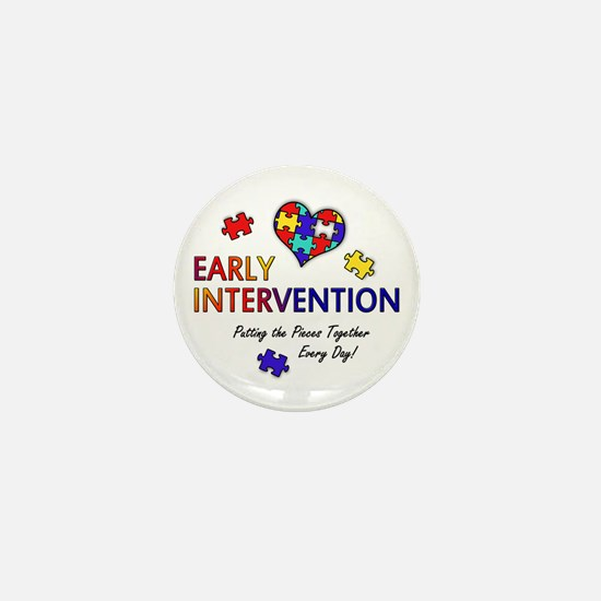"""Early Intervention (Autism) 1"""" Mini Button"""