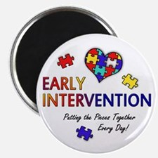 "Early Intervention (Autism) 2.25"" Magnet"
