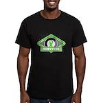 Non-Hodgkin's Lymphoma Men's Fitted T-Shirt (dark)