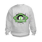 Non-Hodgkin's Lymphoma Kids Sweatshirt