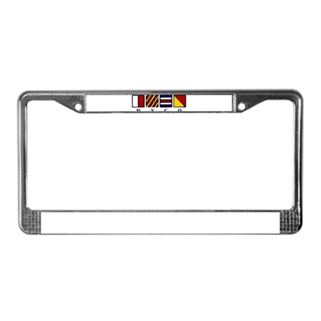 Hyco Lake License Plate Frame