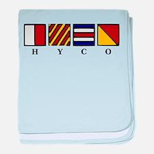 Hyco Lake baby blanket