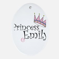 Customized Items Oval Ornament