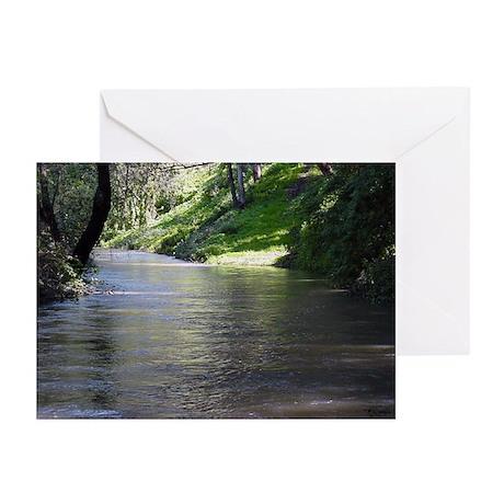 San Leandro Creek Greeting Cards (Pk of 10)