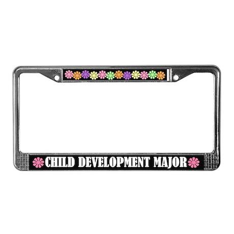 Child Development Major License Frame
