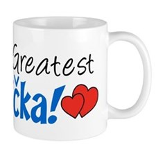 World's Greatest Babicka Small Mug