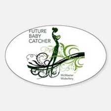 mcmaster midwifery no date Decal