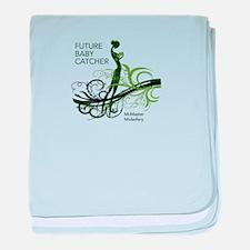 Unique Midwifery baby blanket