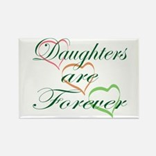 Daughters Are Forever Rectangle Magnet