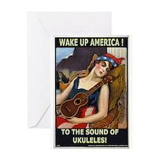 Wake Up America! Greeting Card