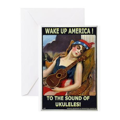 Wake Up America! Greeting Cards (Pk of 10)
