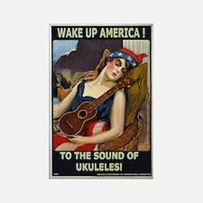Wake Up America! Rectangle Magnet