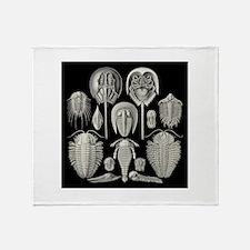 Trilobite Throw Blanket