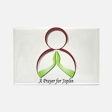 A Pray for Joplin Rectangle Magnet