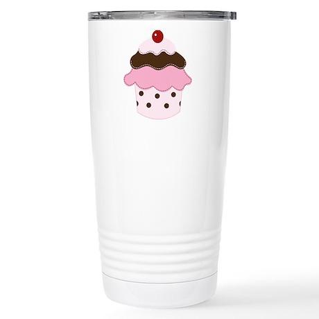 Sweetness Cupcake Stainless Steel Travel Mug