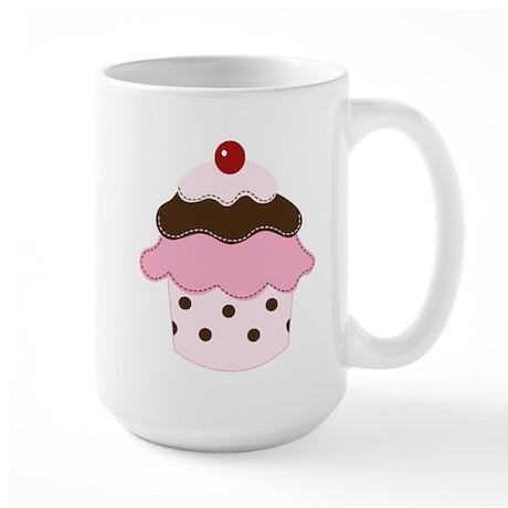 Sweetness Cupcake Large Mug