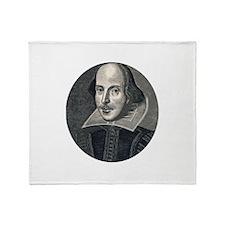 Wm Shakespeare Throw Blanket