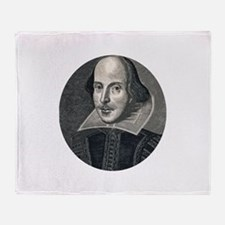 Wm Shakespeare Throw Blanket