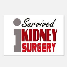 Kidney Surgery Survivor Postcards (Package of 8)