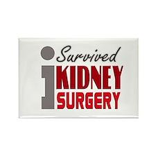 Kidney Surgery Survivor Rectangle Magnet