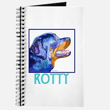 Rotty Rottweiler Dog Breed Gi Journal