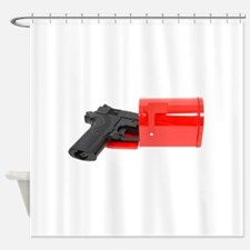 GoingPostal071009.png Shower Curtain