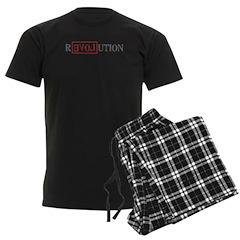 Revolution Men's Dark Pajamas