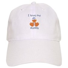 I love my daddy (baby boy ducky) Baseball Cap