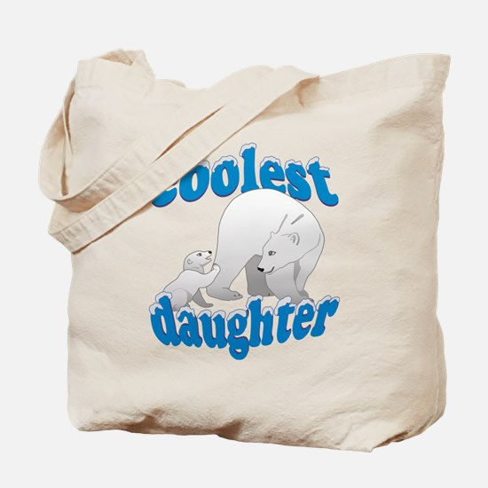 Coolest Daughter Tote Bag