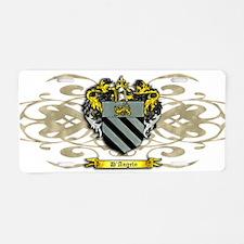 D'Angelo Crest Aluminum License Plate