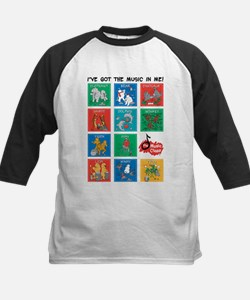 The Music Class Collections Kids Baseball Jersey