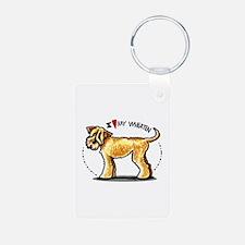 Wheaten Terrier Lover Keychains