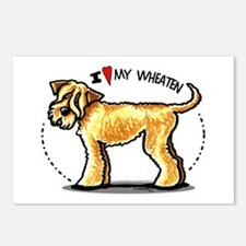 Wheaten Terrier Lover Postcards (Package of 8)