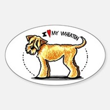 Wheaten Terrier Lover Decal