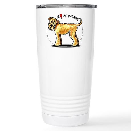 Wheaten Terrier Lover Stainless Steel Travel Mug