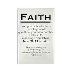 FAITH Rectangle Magnet