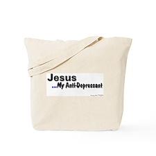 Tote Bag - Jesus My Anti-Depressant