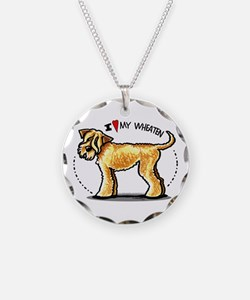 Wheaten Terrier Lover Necklace