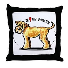 Wheaten Terrier Lover Throw Pillow