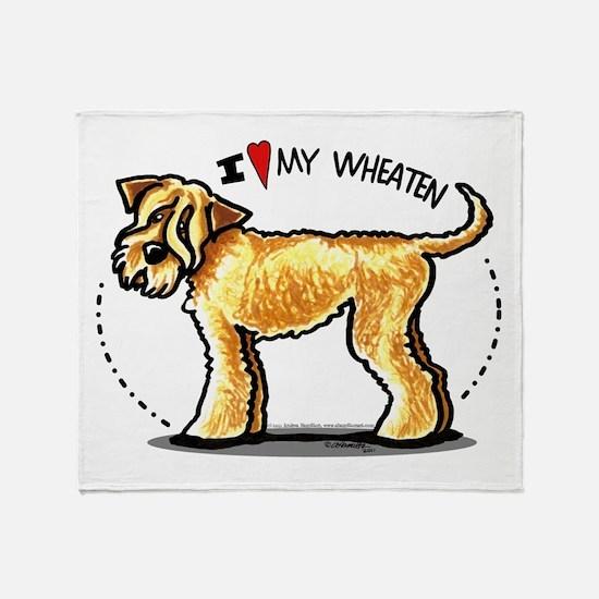 Wheaten Terrier Lover Throw Blanket