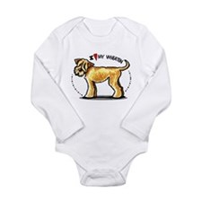Wheaten Terrier Lover Long Sleeve Infant Bodysuit